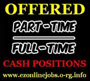 AMAZING Cash Jobs,  Staff Needed Urgently.