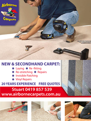 Carpets repairs service in Perth