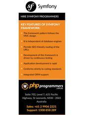 Symfony Framework Sydney