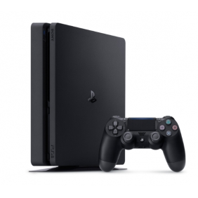 PlayStation 4 Slim 500GB - PS4 Jet Black Console