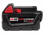 Milwaukee 4.0AH 18V M18 M18B4 48-11-1828 Lithium Ion Battery