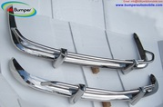 VW Karmann Ghia US type bumper in stainless steel