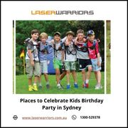 Places to Celebrate Kids Birthday Party in Sydney - Laser Warriors